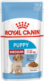 Корм для собак Royal Canin Medium Puppy pouch (0,14 кг) 1 шт.