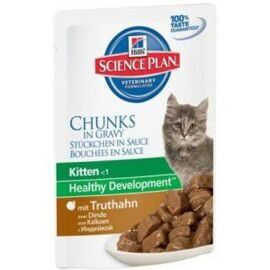 Корм для кошек Hill's (0.085 кг) 1 шт. Science Plan Kitten Healthy Development with Turkey Pouch