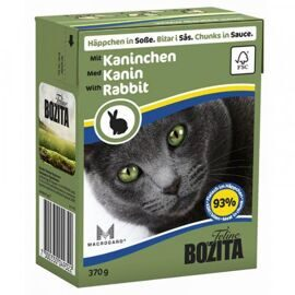 Корм для кошек Bozita Feline chunks in sauce with Rabbit (0.37 кг) 1 шт.