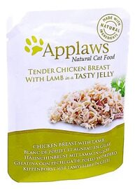 Корм для кошек Applaws Cat Pouch Tender Chicken Breast with Lamb in a tasty jelly (0.07 кг) 1 шт.