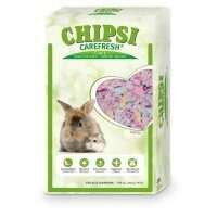 Chipsi Carefresh Forest Green зеленый бумажный наполнитель для мелких животных и птиц 14 л