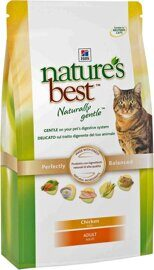 Корм для кошек Hill's (0.3 кг) Nature's Best Feline Adult Chicken dry